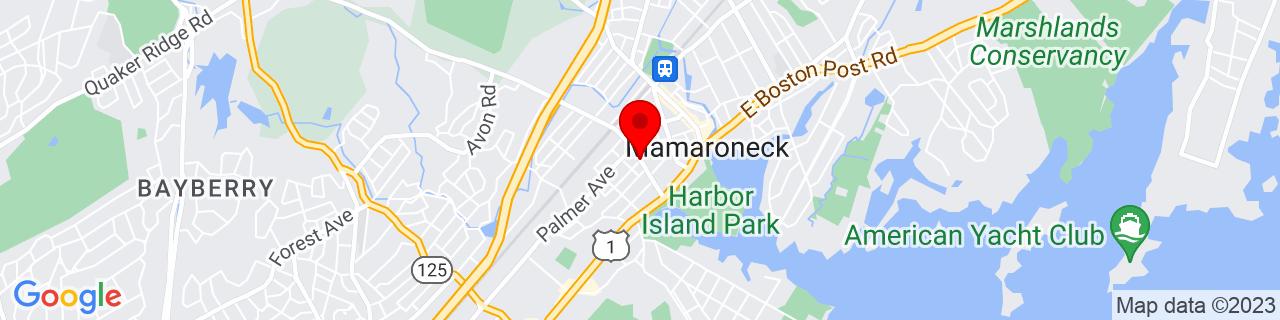 Google Map of 40.9478979, -73.73833909999999
