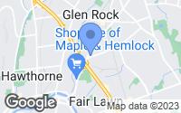 Map of Glen Rock, NJ