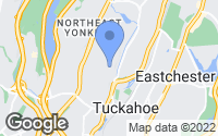 Map of Yonkers, NY