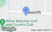 Map of Haworth, NJ
