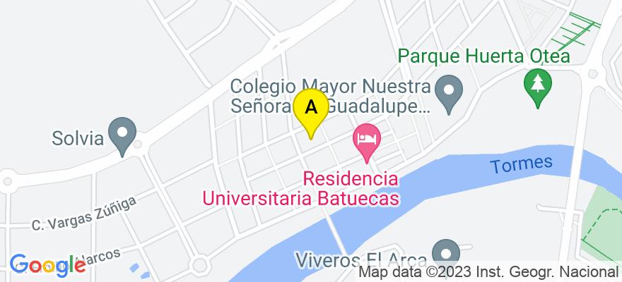 situacion en el mapa de . Direccion: C/Antonio Ponz, 52-64, Portal 3, 1º A, 37007 Salamanca. Salamanca