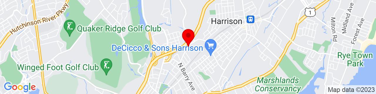 Google Map of 40.9638723, -73.7295274