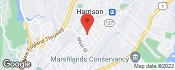 Map of 93 Halstead Ave in Harrison