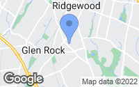 Map of Glen Rock, NJ