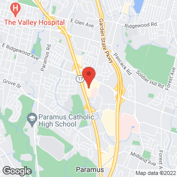 Map of buybuy BABY at 34 East Ridgewood Avenue, Paramus, NJ 07652