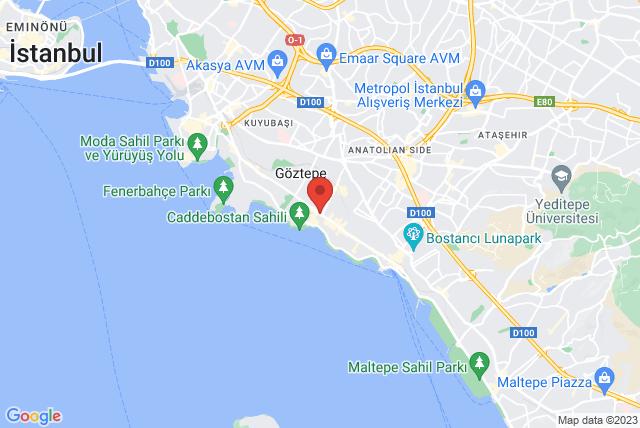 Pilates Timur Tekçe Map