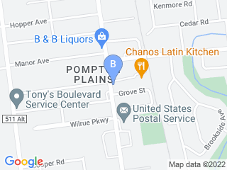 Map of Bon Chien Dog Boarding options in Pompton Plains | Boarding