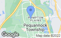 Map of Pequannock Township, NJ
