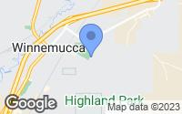 Map of Winnemucca, NV
