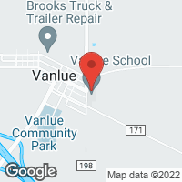 [Vanlue High School  Map]