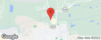 Map of 1092 N Church St in Hazle Township