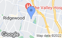 Map of Ridgewood, NJ