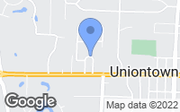 Map of Uniontown, OH