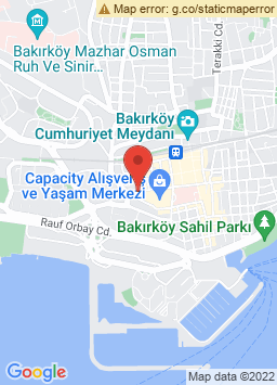 Google Map of تيتانيك بورت باكيركوي