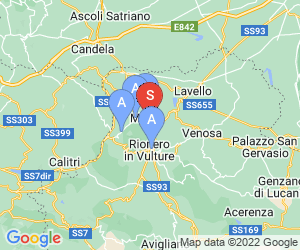 Karte für Terme di Rapolla