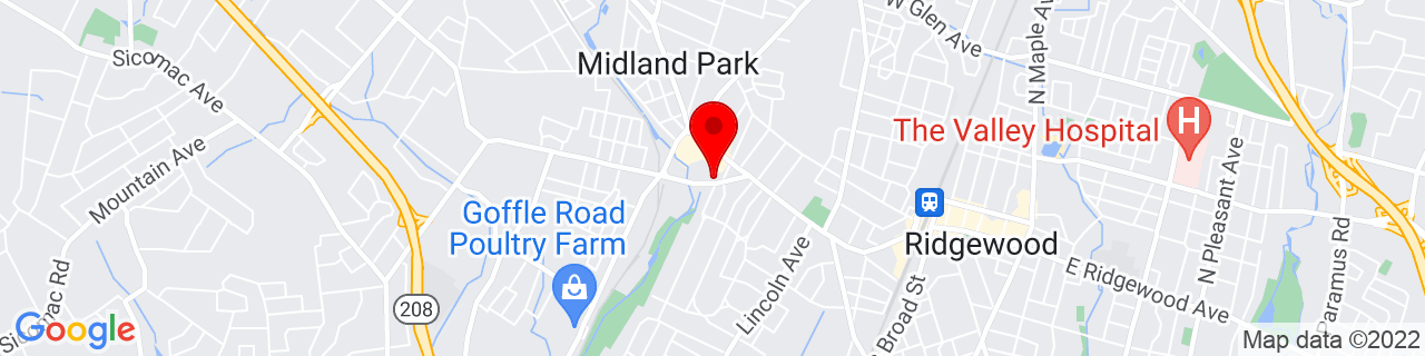 Google Map of 40.98256, -74.137237
