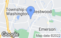 Map of Westwood, NJ