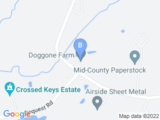 Map of Doggone Farm Dog Boarding options in Andover | Boarding