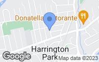 Map of Harrington Park, NJ