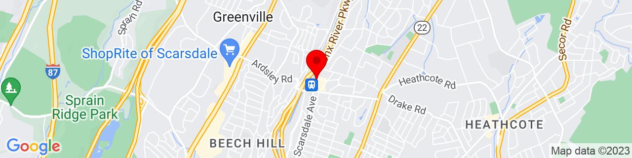 Google Map of 40.9903498, -73.8078115