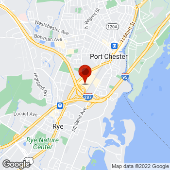 Map of Staples® Print & Marketing Services at 515 Boston Post Rd, Port Chester, NY 10573
