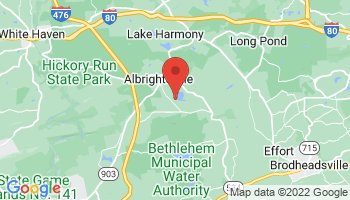 Map of Albrightsville