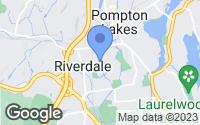 Map of Riverdale, NJ