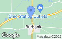 Map of Burbank, OH
