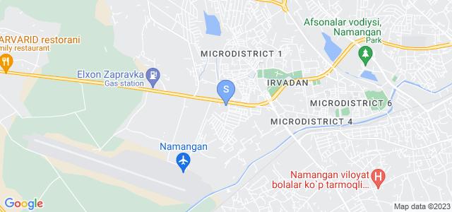Расположение гостиницы С-Наманган на карте