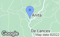 Map of Anita, PA