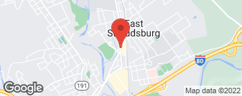 Map of 96 S Courtland St in East Stroudsburg