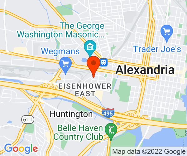 Google Map of Westin Alexandria
