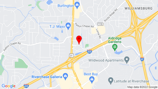 Google Map of 400 Municipal Drive, Birmingham, AL