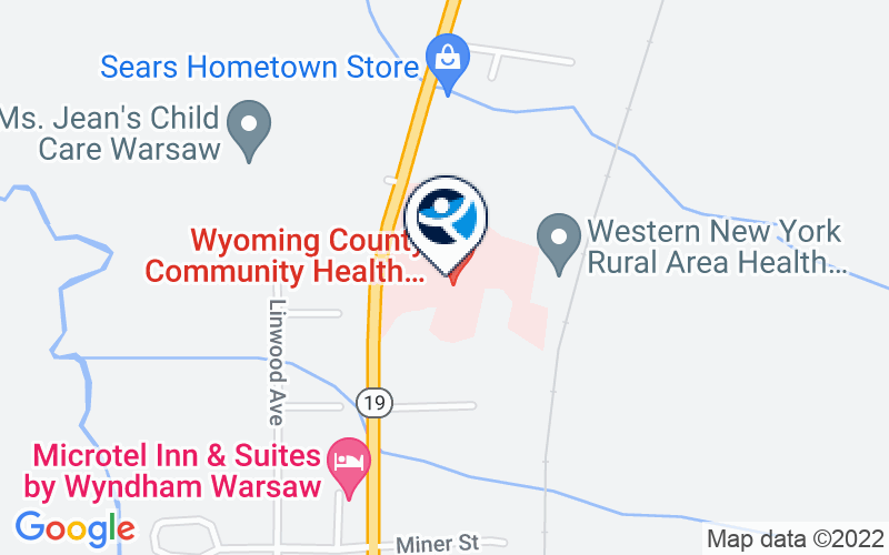 Wyoming County Community Hospital - Behavioral Health Unit Location and Directions