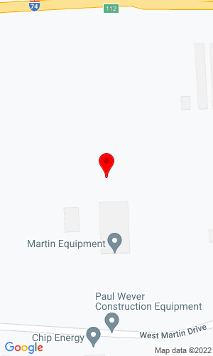 Google Map of Martin Equipment 400 W Martin Drive, Goodfield, IL, 61742