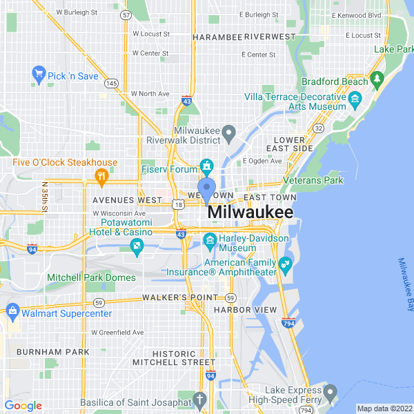 Anime Milwaukee Map
