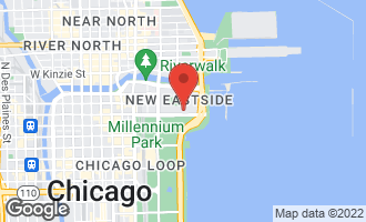 Map of 400 East Randolph Street #2122 CHICAGO, IL 60601