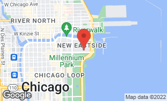 Map of 400 East Randolph Street #2430 CHICAGO, IL 60601