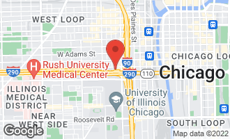 Map of 400 South Green Street #501 CHICAGO, IL 60607