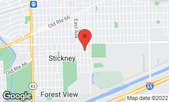 Map of 4001 Gunderson Avenue STICKNEY, IL 60402