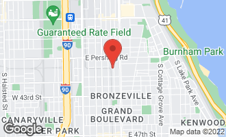 Map of 4002 South Calumet Avenue 3N Chicago, IL 60653