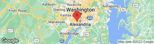 Map of 4003 PINE BROOK ROAD ALEXANDRIA, VA 22310