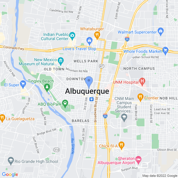 Wizard World: Albuquerque Map