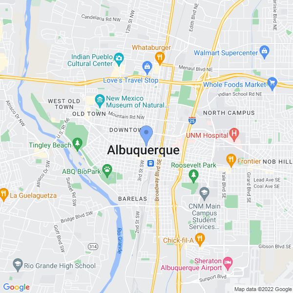 Albuquerque Comic Con Map