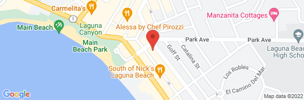 Laguna Beach Map