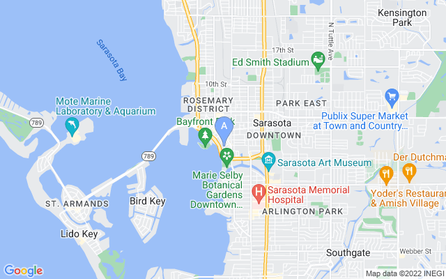 401 S Palm Ave #1102 Sarasota Florida 34236 locatior map