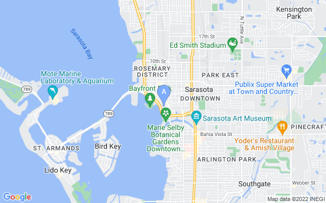 401 S Palm Ave #ph1101 Sarasota Florida 34236 locatior map