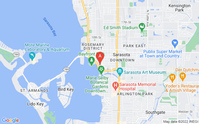 401 S Palm Ave #ph-1101 Sarasota Florida 34236 locatior map