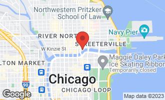 Map of 401 North Wabash Avenue 29F CHICAGO, IL 60611
