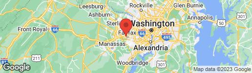 Map of 4015 CHESTNUT STREET FAIRFAX, VA 22030